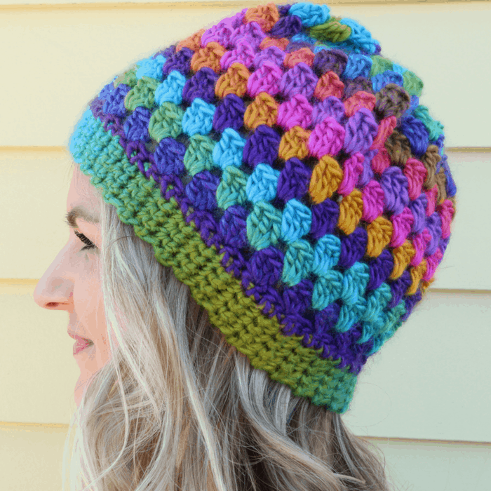 3a686f1e628 Beginner Crochet Beanie Round Up - Great Hats to Choose From!