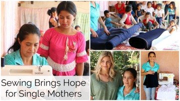 Maria Starts Sewing Group for Single Mothers in Honduras