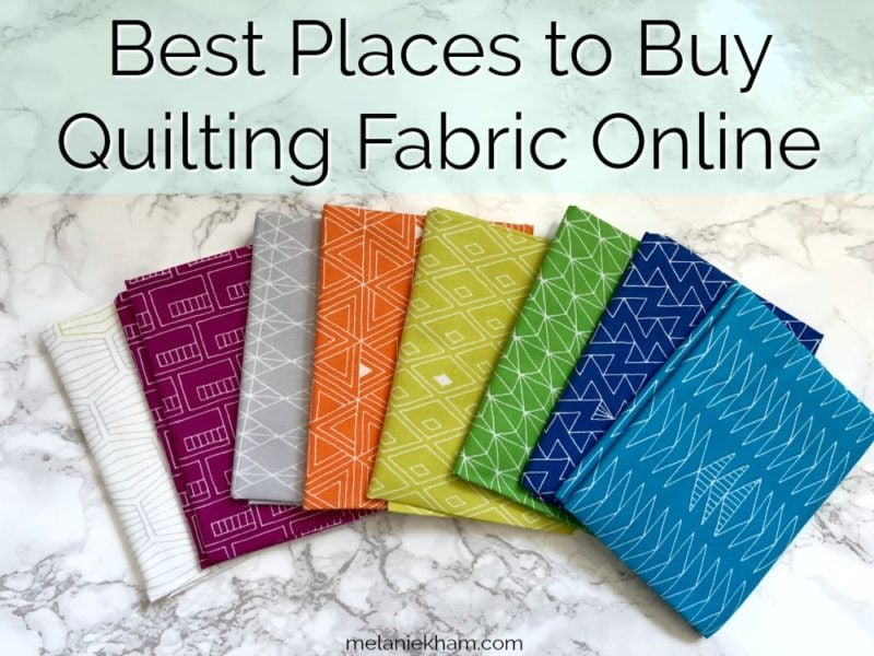 Best Places to Buy Quilting Fabric Online - Trusted