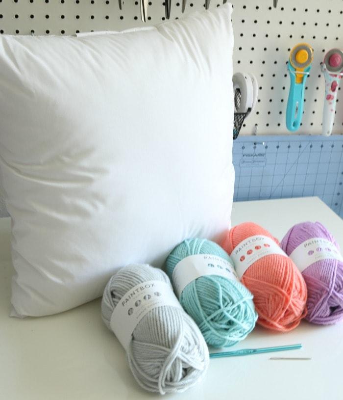 Moss Pillow Crochet Along