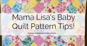 Baby Quilt Pattern Tips