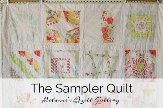 Melanie's Quilt Gallery: The Sampler Quilt