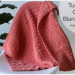 Turtle Shell Crochet Blanket- Beginner Friendly