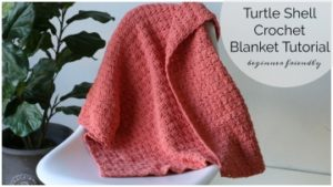 Turtle Shell Crochet Blanket BlogThumb