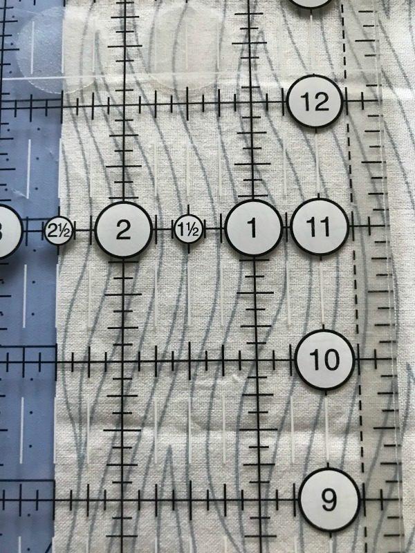 width of binding