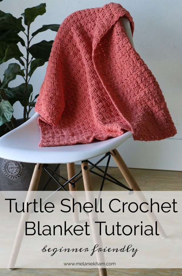 turtle shell crochet blanket
