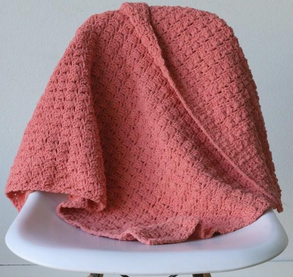 turtle shell crochet blanket