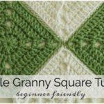 Simple Crochet Granny Square – Beginner Friendly by Melanie Ham