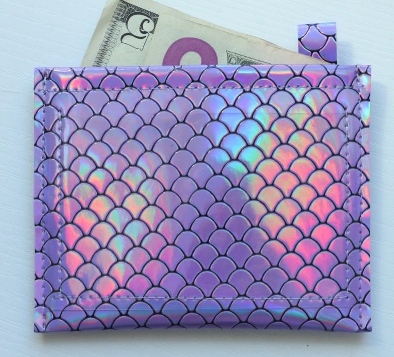 easy vinyl wallet