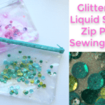 Glitter Vinyl Sensory Zip Pouch Sewing Tutorial