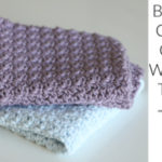 Beginner Crochet Cotton Washcloth Tutorial