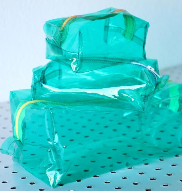 Vinyl box pouch