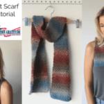Basic Crochet Scarf Tutorial: Operation Gratitude
