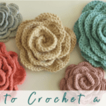 Crochet Rose Pattern – Easy Video Tutorial