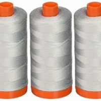 3-PACK - Aurifil Mako Cotton Thread Solid 50WT 1422Yds Dove