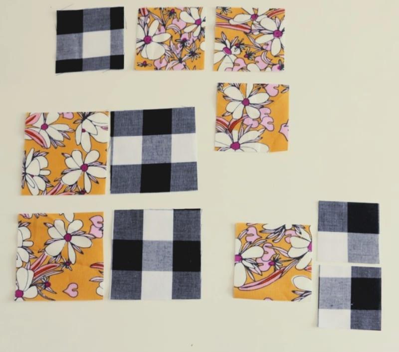 maple leaf block fabric