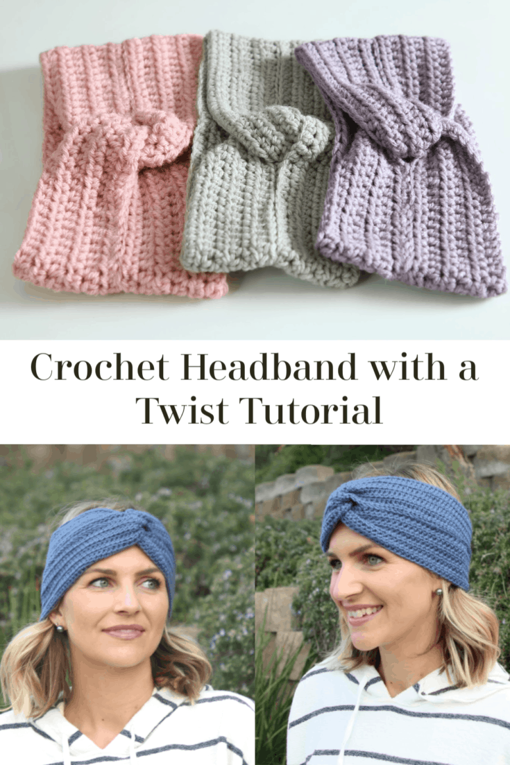 Learn how to make this simple crochet headband with free video tutorial and pattern by Melanie Ham.  This is a quick crochet project and great for beginner crocheters looking for how to crochet a headband or for gifts.