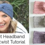 Simple Crochet Headband with a Twist Tutorial