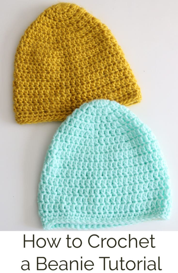 Learn how to crochet a beanie in this tutorial by Melanie Ham. This is a basic beanie, meant to be more fitted.  There is a size charit as we all free written pattern and videos that go nice and slow for beginners to follow along.