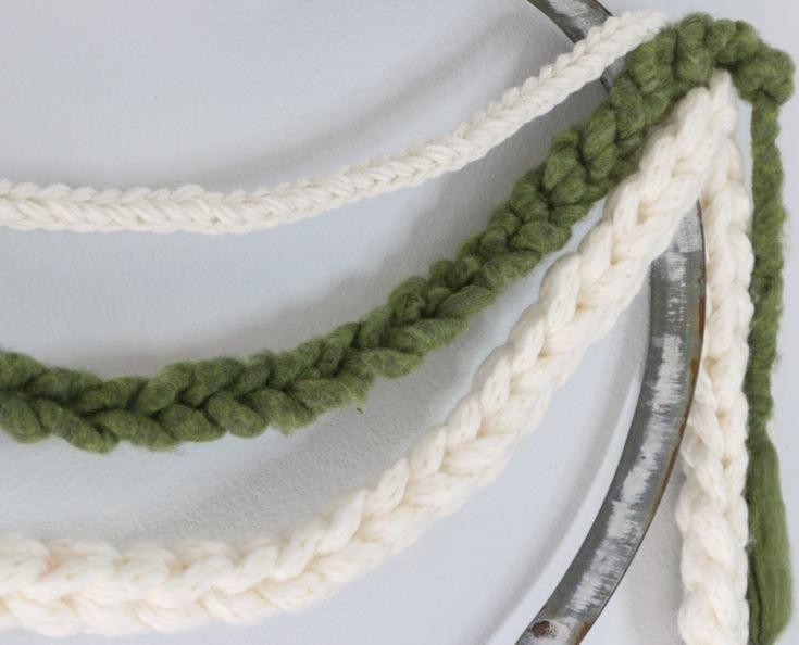 Easy Crochet Garland Tutorial