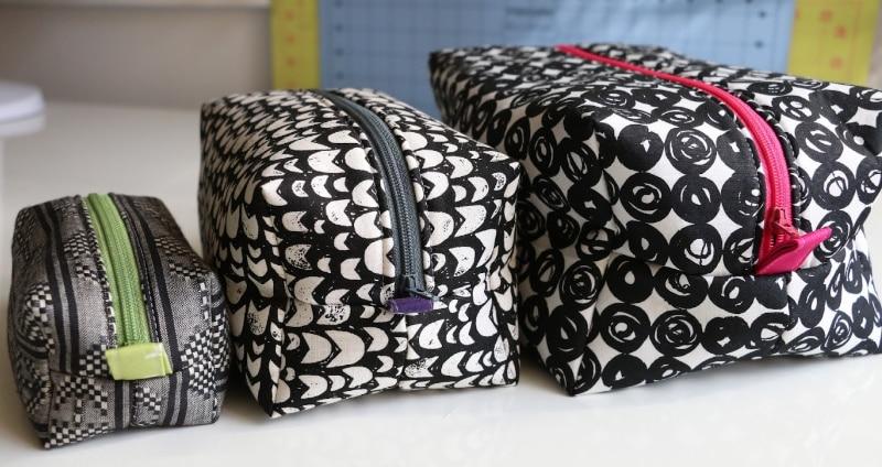 box pouch sizes