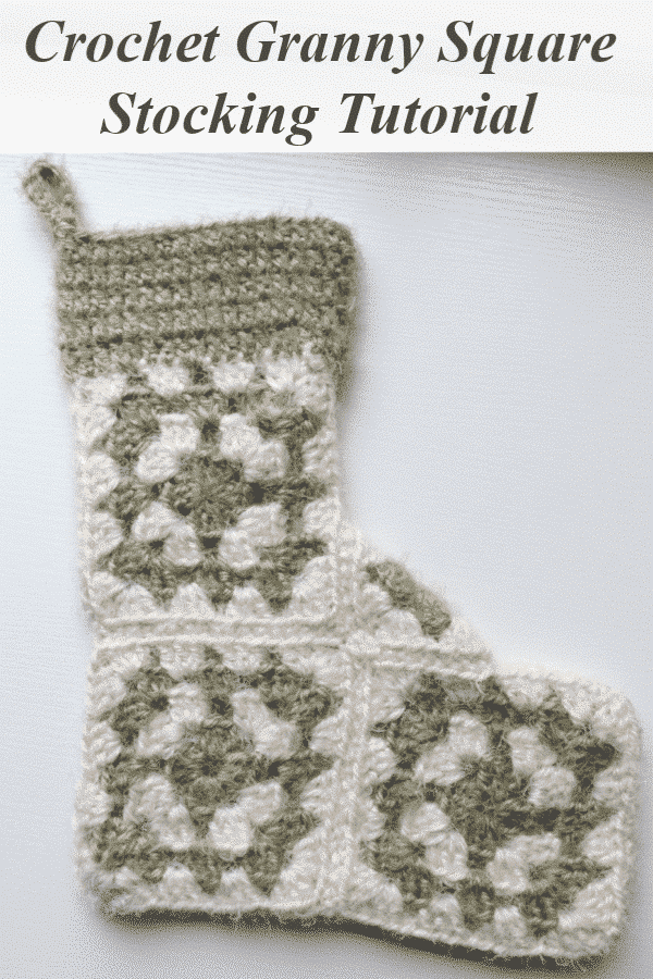 Learn how to make this adorable vintage inspired crochet granny square stocking by Melanie Ham.  This includes a free crochet pattern and video tutorial.