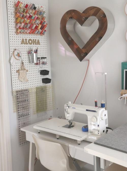 sewing room desk