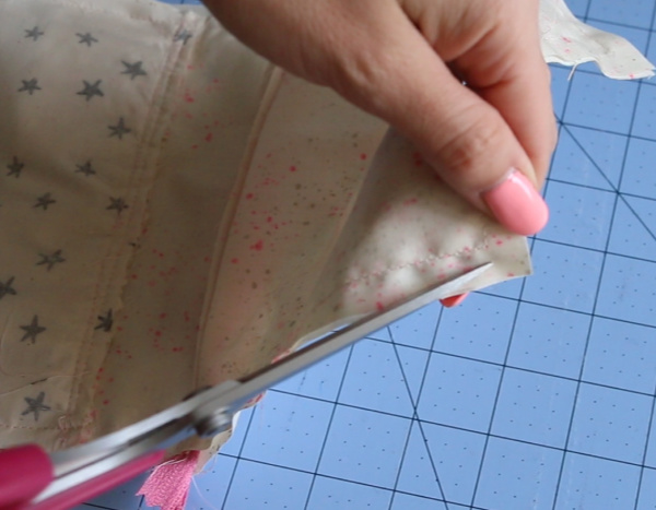 how to make a zip pouch