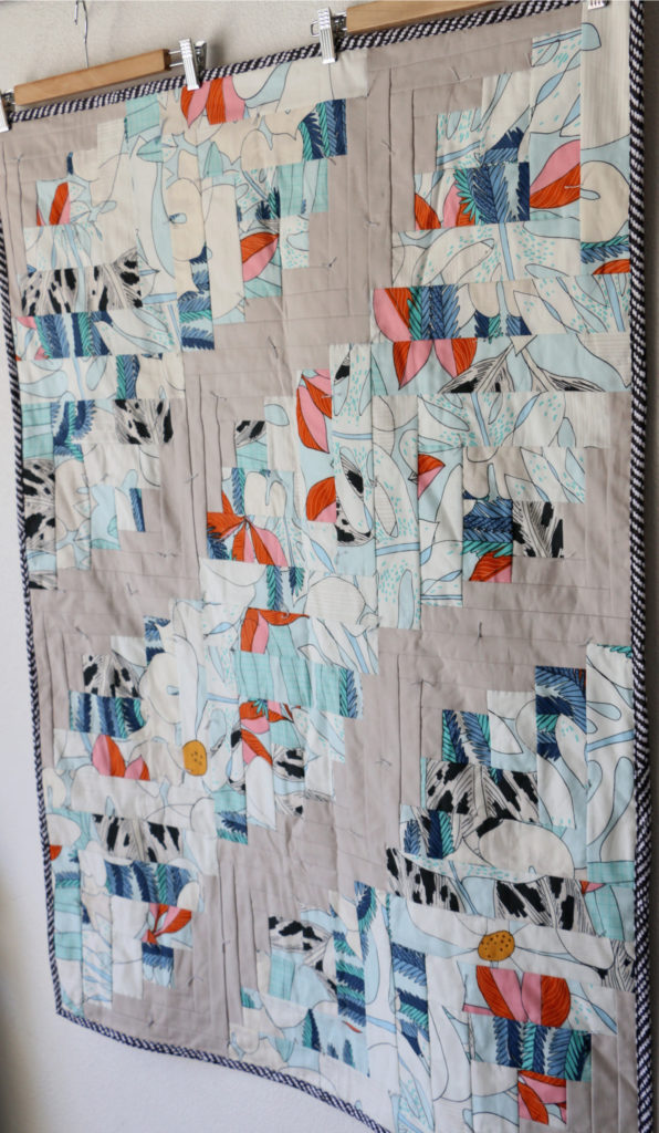 hand tie a quilt