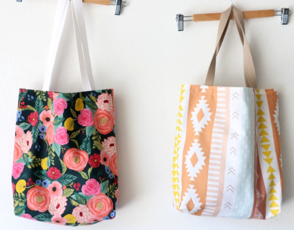 how to sew a tote bag
