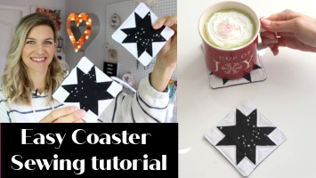 coaster sewing tutorial