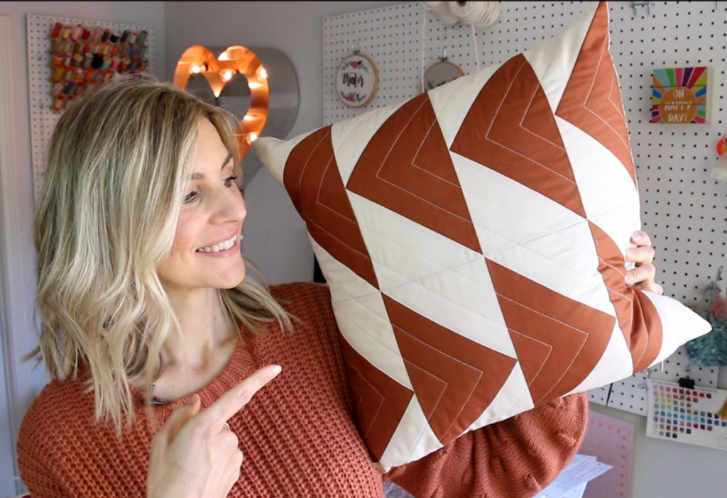 pillow cover with invisible zipper