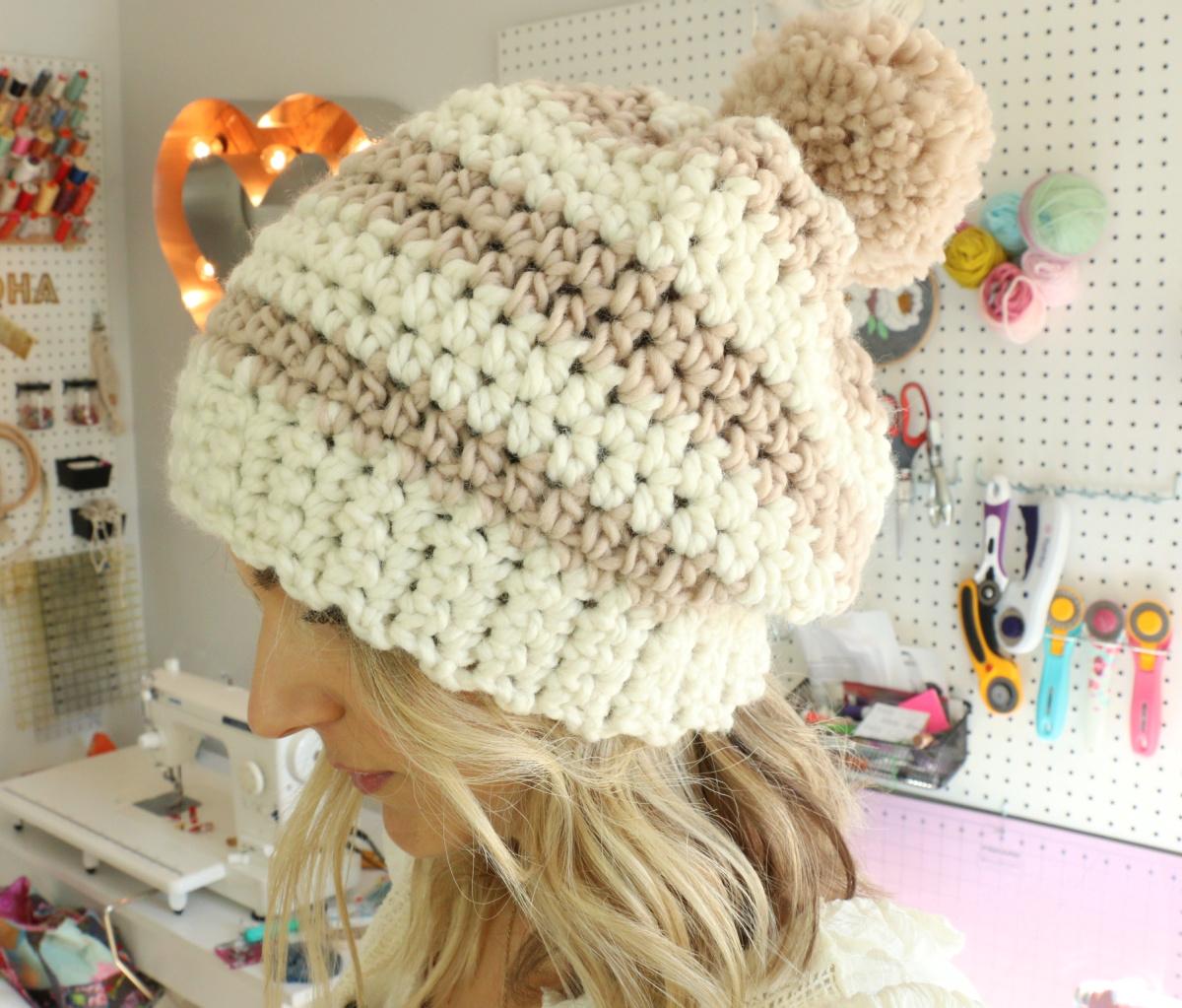 patrón de sombrero de ganchillo