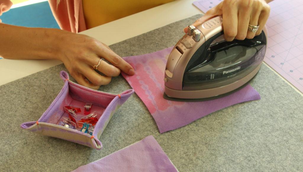 tutorial de costura de bandeja de baratijas